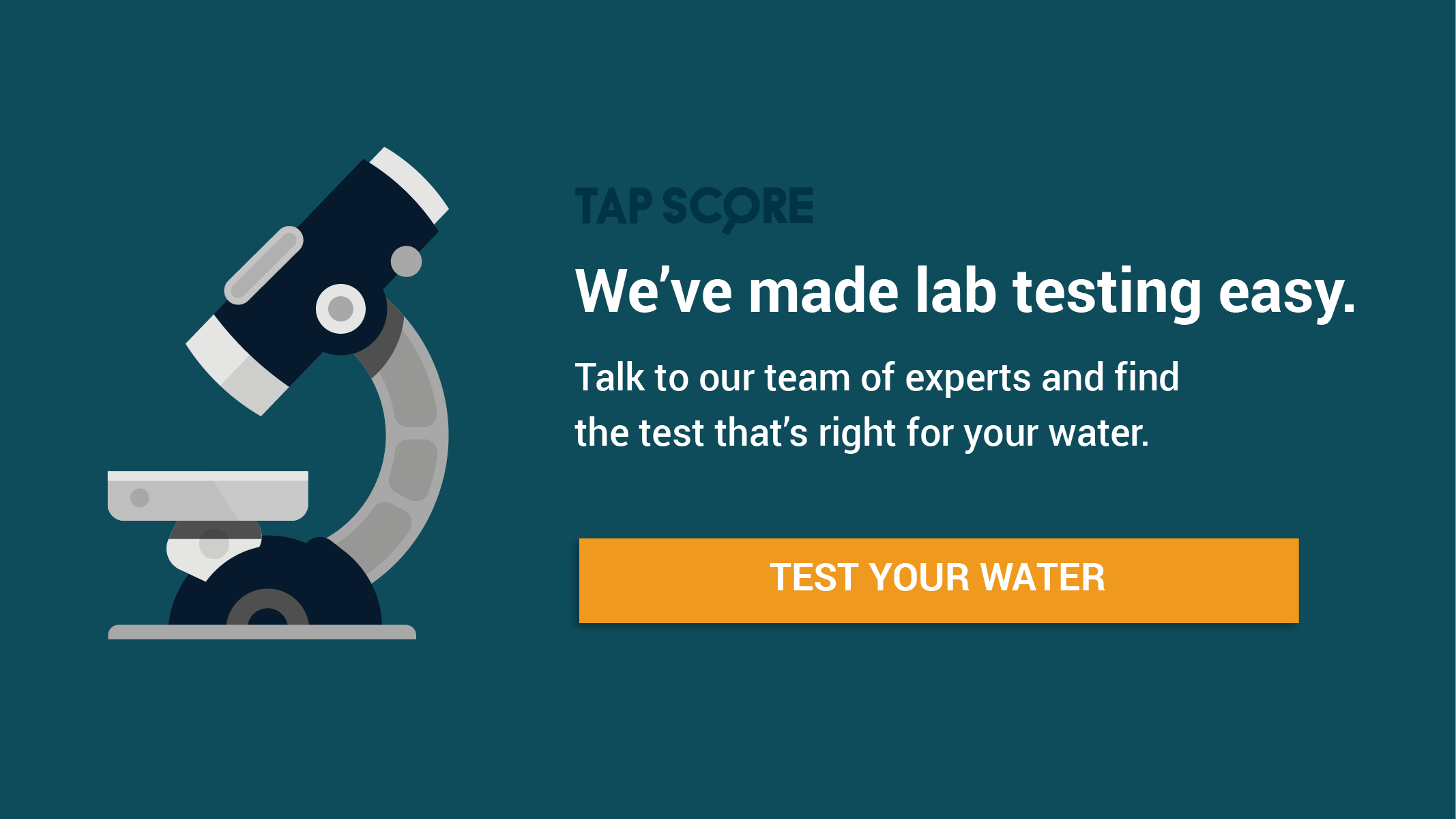 Test your water now