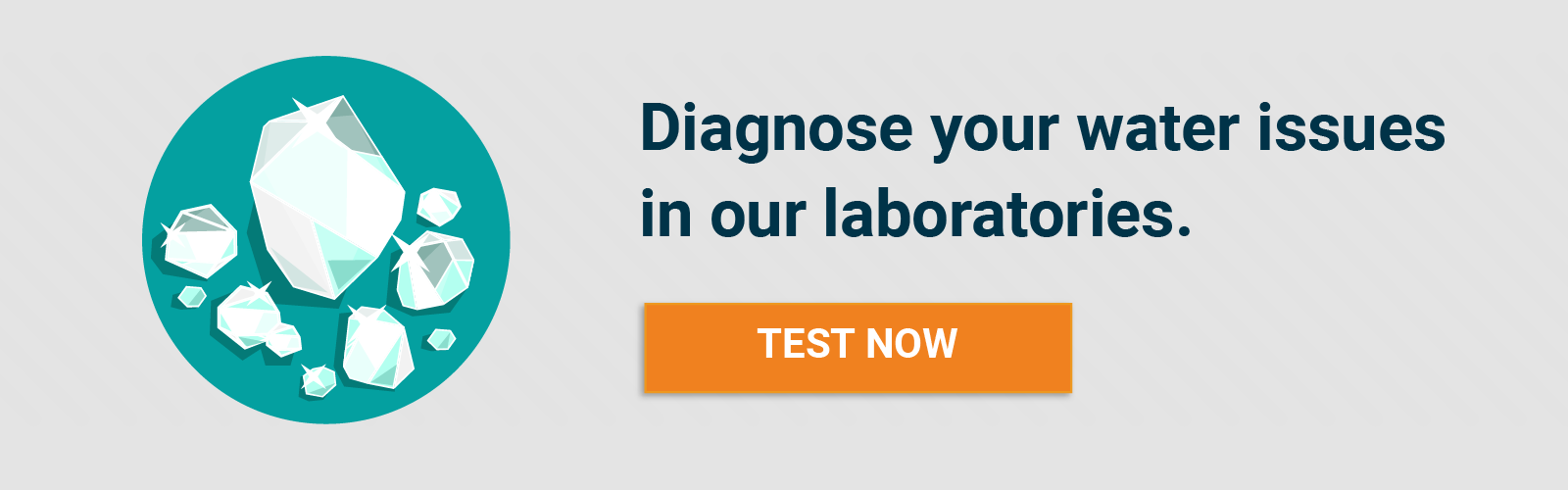 Test your water in a certified laboratory