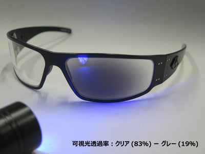 ANSI Z87+/ Black/ Inferno Photo-chromatic Lenses