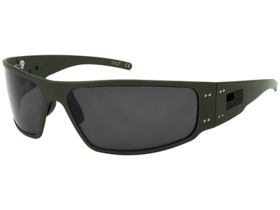 Magnum Patriot Cerakote OD Green / Black Fill American Flag / Smoked Polarized Lens