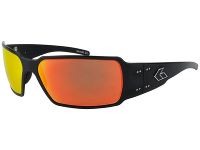 Black/ Sunburst Polarized Mirror