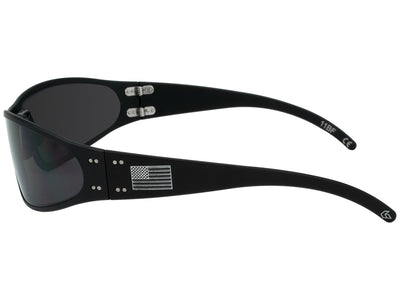 Patriot American Flag / Black / Smoked Polarized