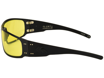 ANSI Z87+ / Black / Yellow Anti-Fog