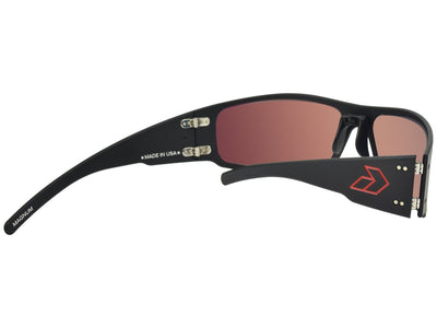 Magnum / Black w/ Red Engraved G / Red Mirror Polarized