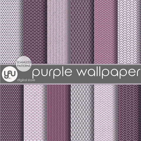 Digital paper | Imagini digitale - PURPLE WALLPAPER - DP8