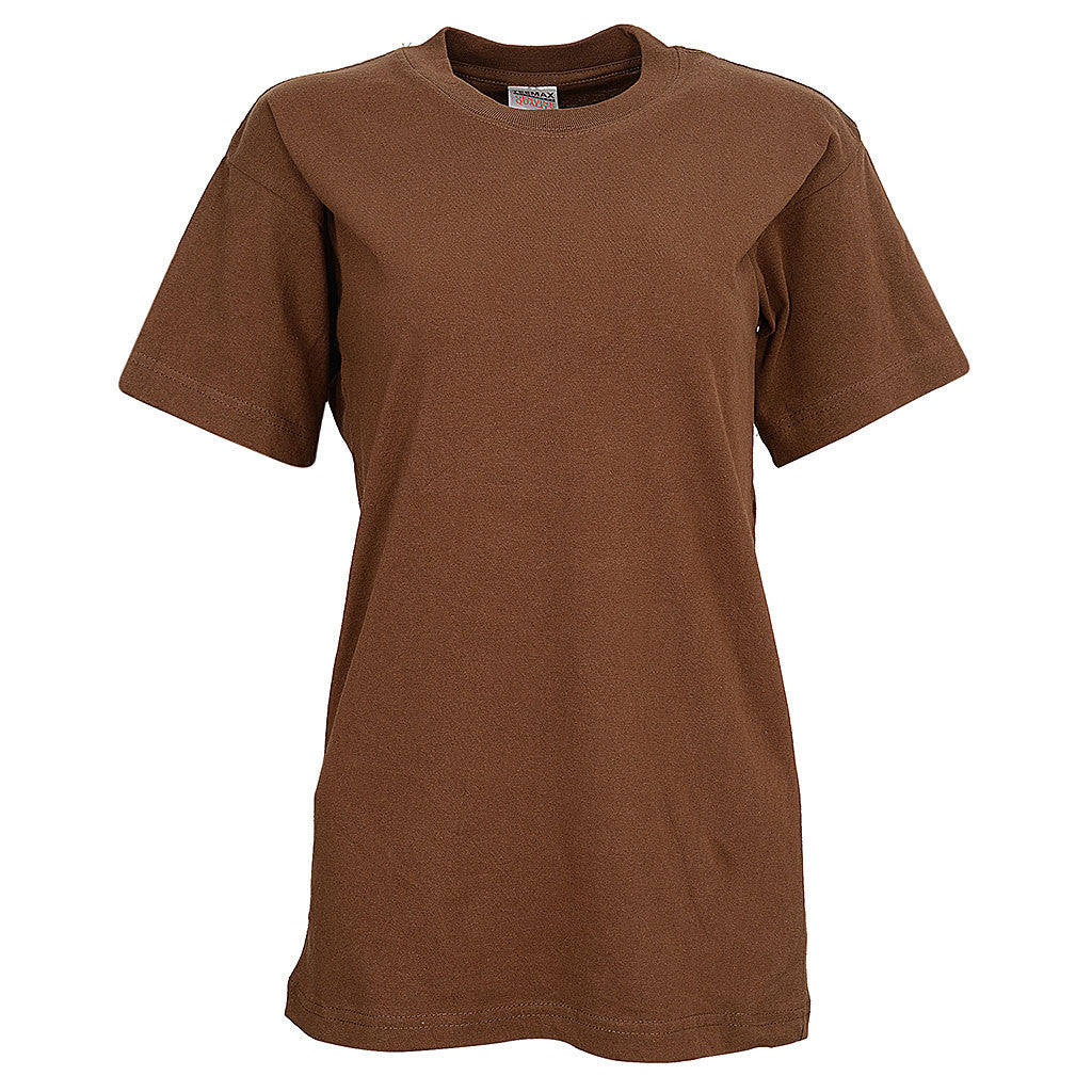 Womens Short Sleeve Tee (BROWN)