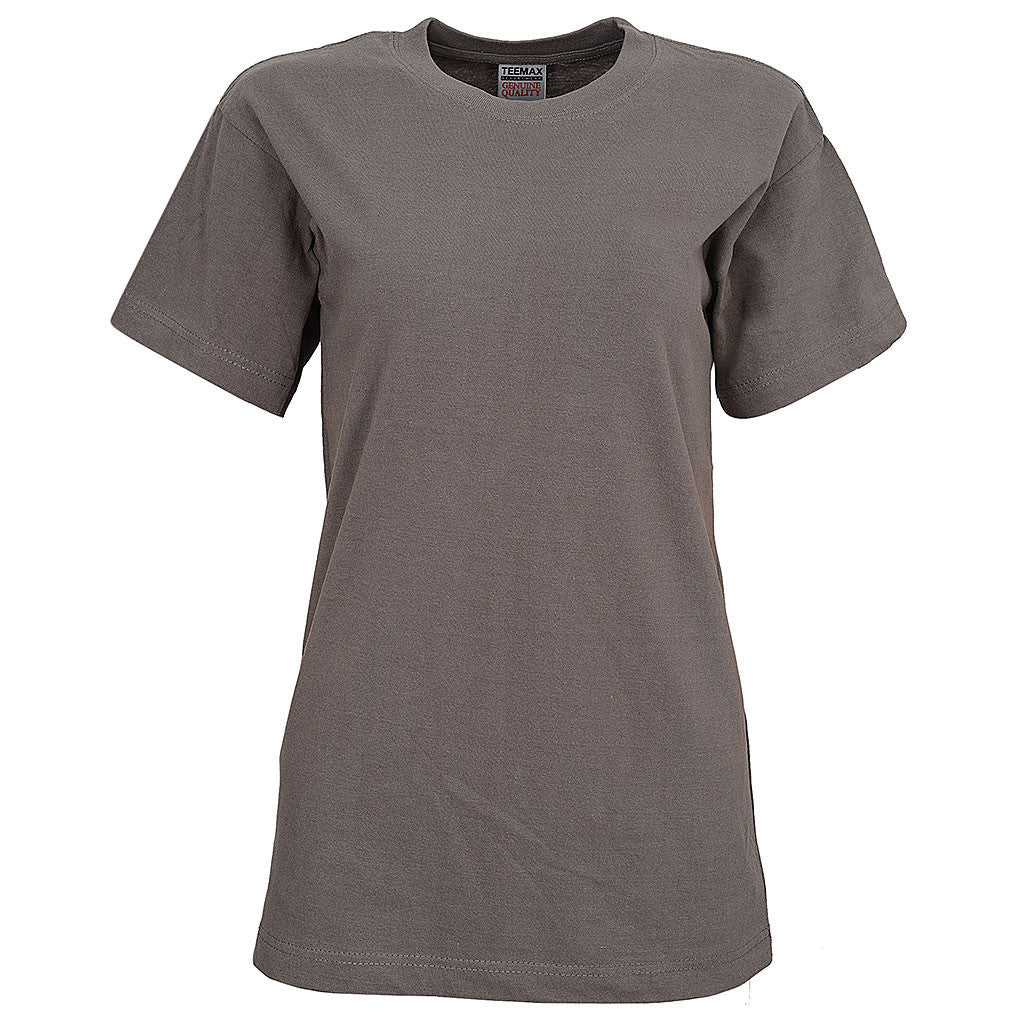 Womens Short Sleeve Tee (CHARCOAL)