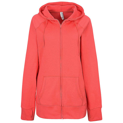Womens Performance Full Zips (CHERRY)