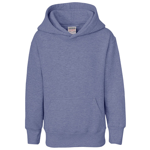 Kids Pullover Hoodie (HEATHER BLUE)
