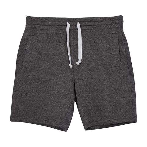 Mens Fleece Shorts: Charcoal Gray