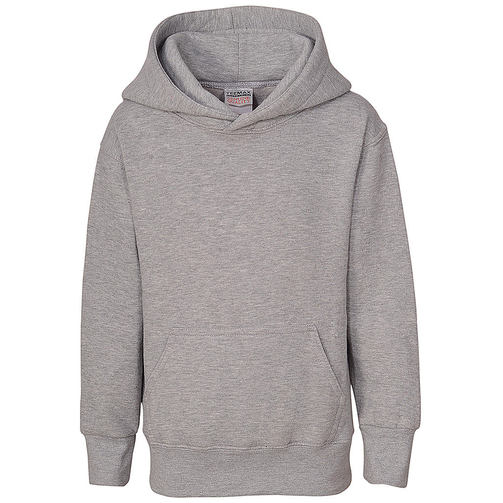 Boys Pullover Hoodie (HEATHER GRAY)
