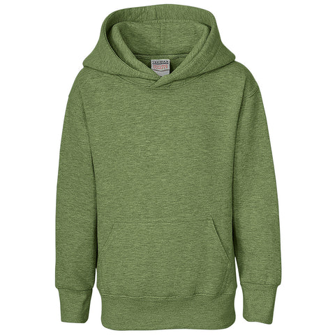 Boys Pullover Hoodie (HEATHER GREEN)