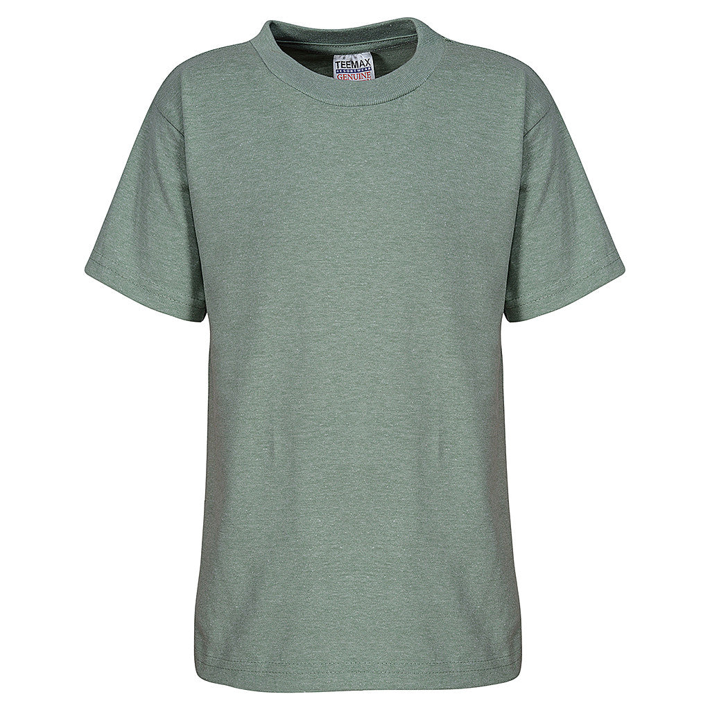 Kids T Shirt (HEATHER GREEN)