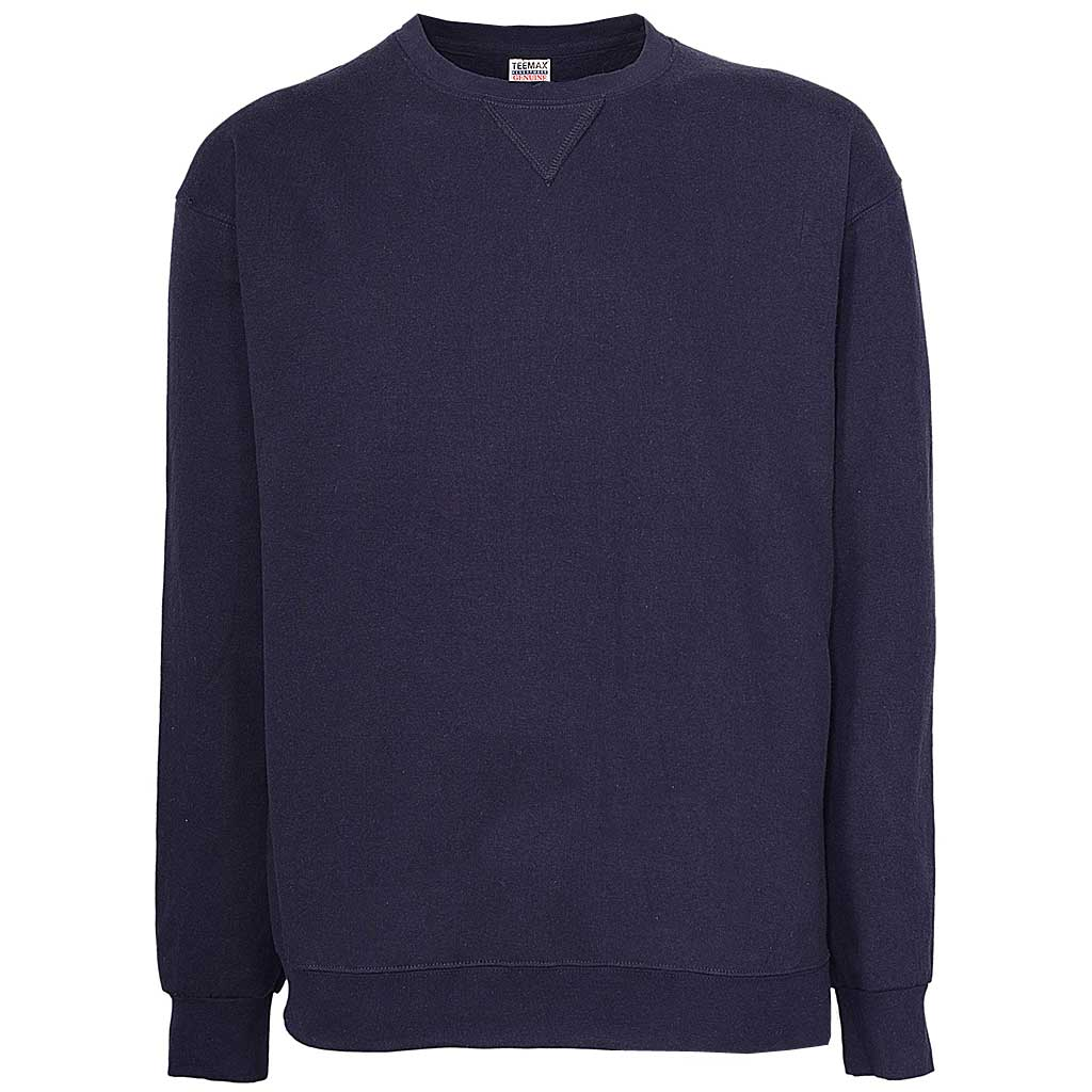Mens Navy Blue Sweatshirt Pullover