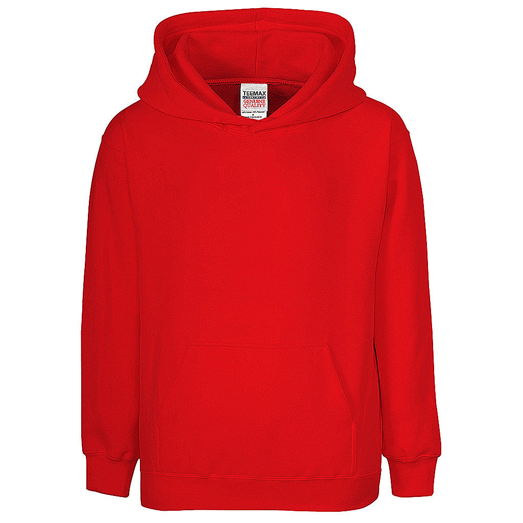 Boys Pullover Hoodie (RED)