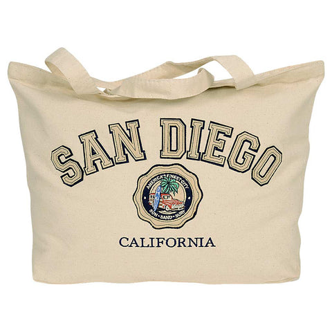 Tote Bag-San Diego Woody Car