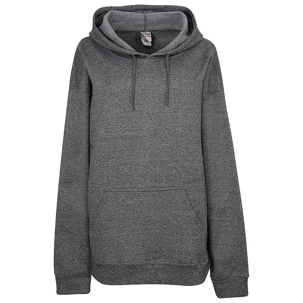 Womens Twisted Pullover Hoodie (TW BLACK)