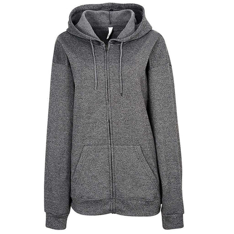 Womens Twisted Fleece Full Zip (TW BLACK)