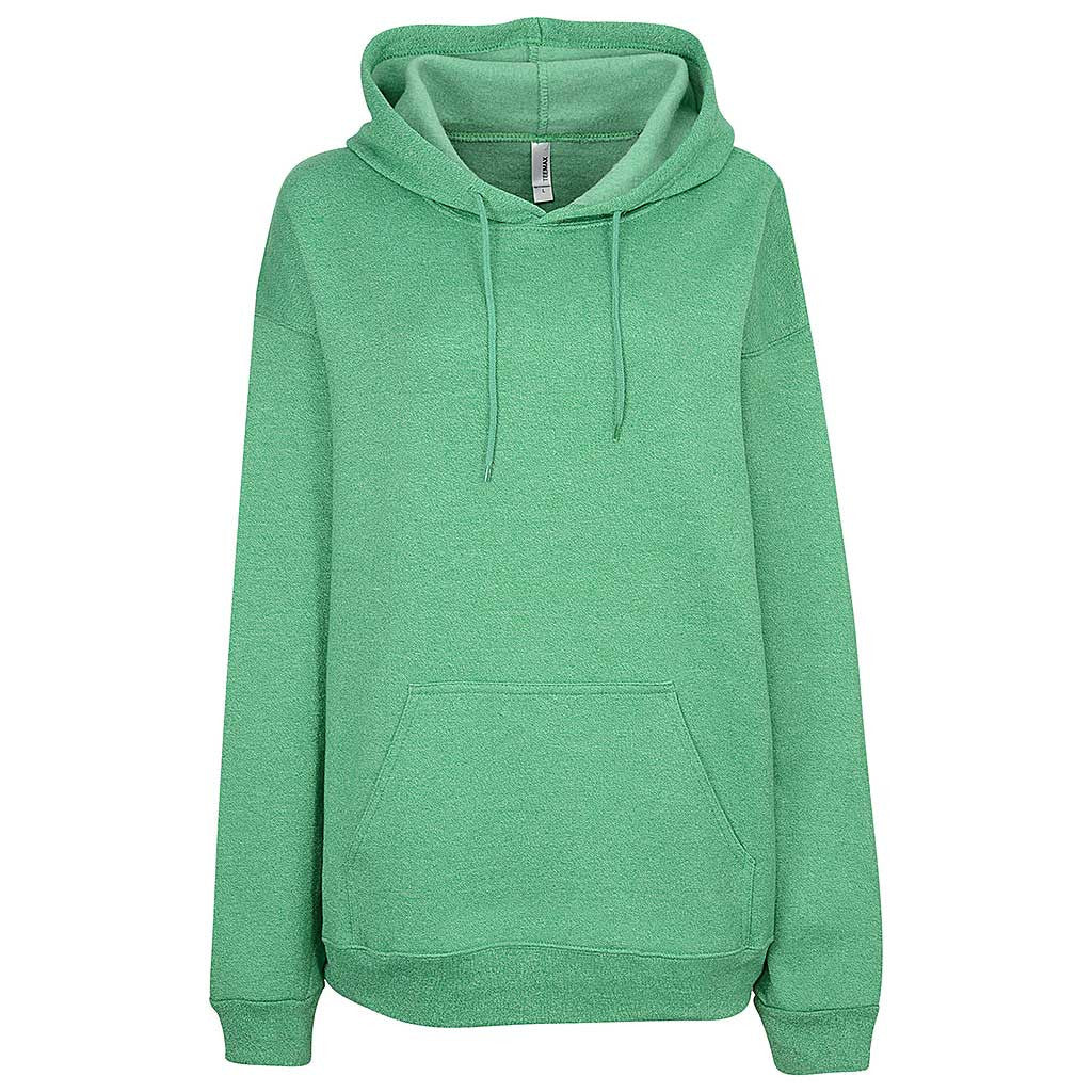 Womens Twisted Pullover Hoodie (TW GREEN)