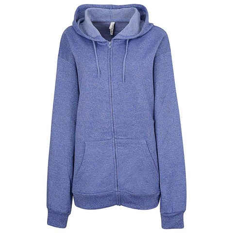 Womens Twisted Fleece Full Zip (TW PURPLE)
