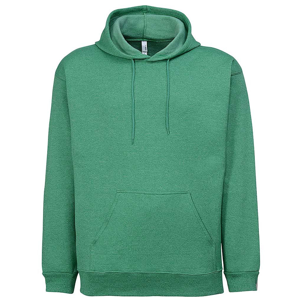 Mens Twisted Pullover Hoodie (GREEN) - Teemax