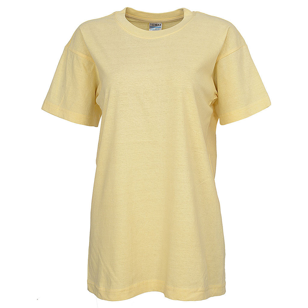 Womens Short Sleeve Tee (VANILLA)