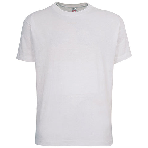 Mens Short Sleeve T-shirt (WHITE) - Teemax