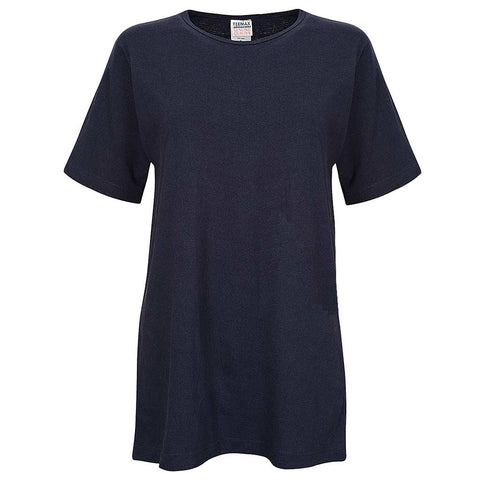 Navy Blue Unisex Shirt: Womens