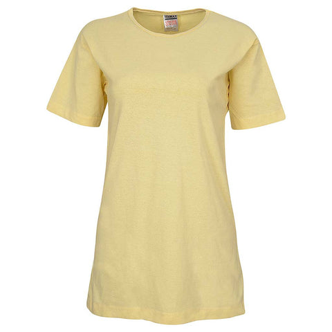 Vanilla Yellow Loose T-Shirt : Womens