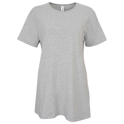 Heather Gray Womens T-Shirt: Teemax