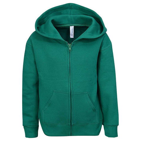 Toddle Zip Hoodie Sweatshirt Kelly Irish Green