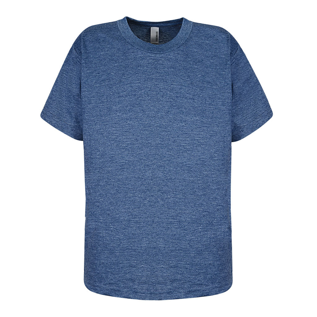 Boys Navy Blue Heather T Shirt