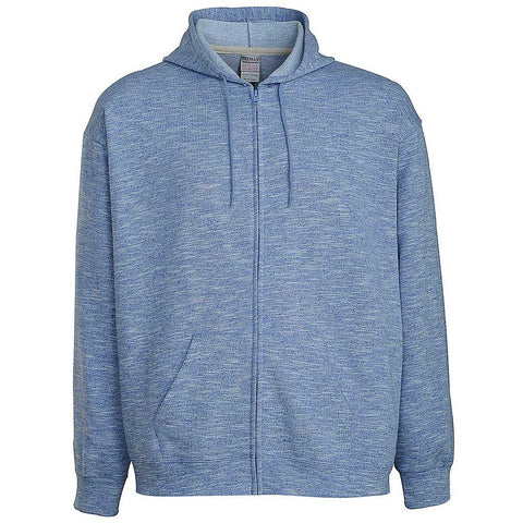 Mens Zip Hoodie. Light Sky Blue.