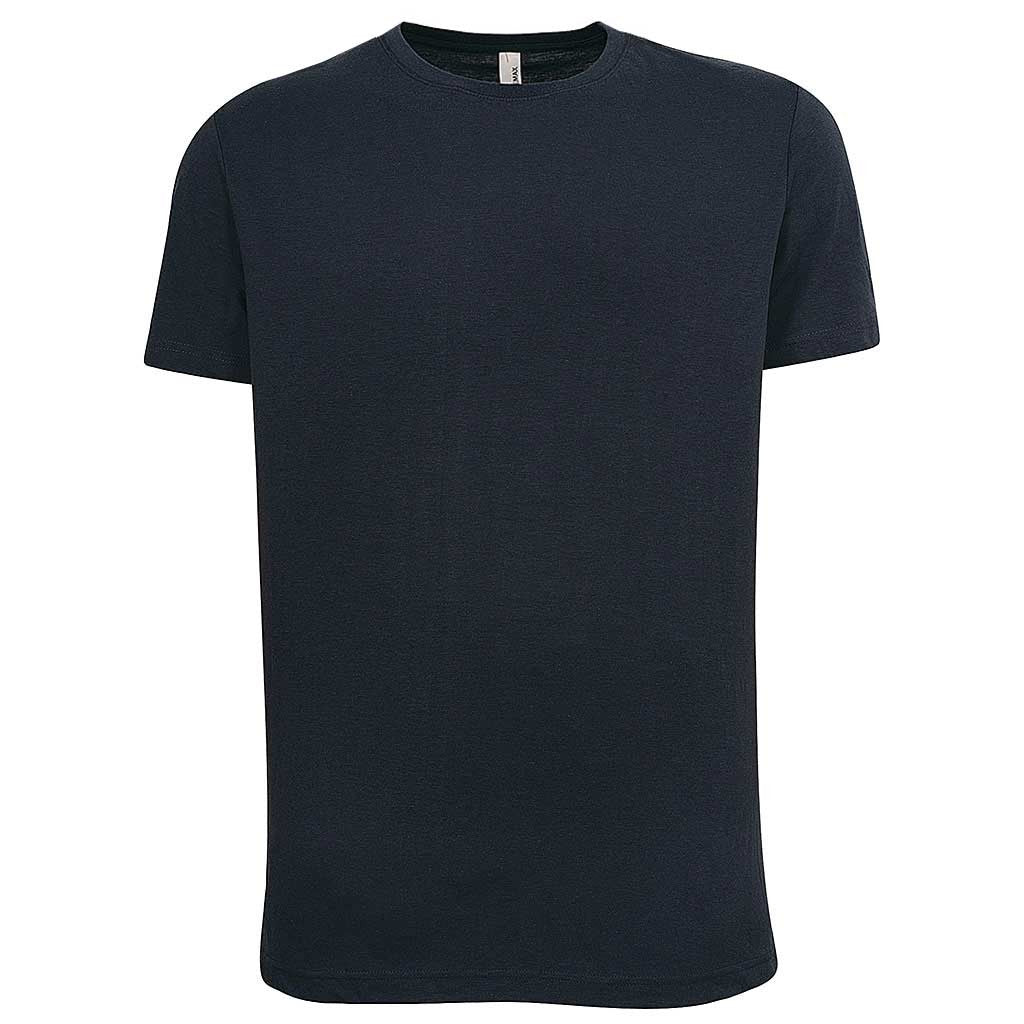 Mens Blue Navy Crew Neck T Shirt