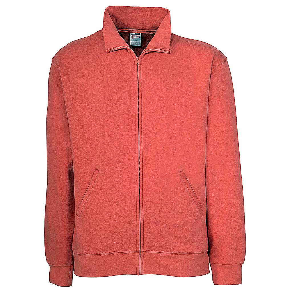 Mens Zip Jacket: Punch Peach