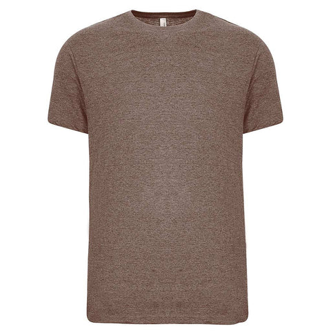 Mens Khaki Heather Brown T Shirt