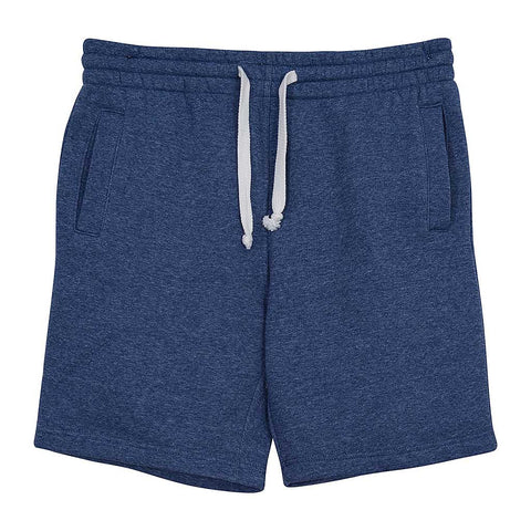 Mens Fleece Shorts Navy Blue