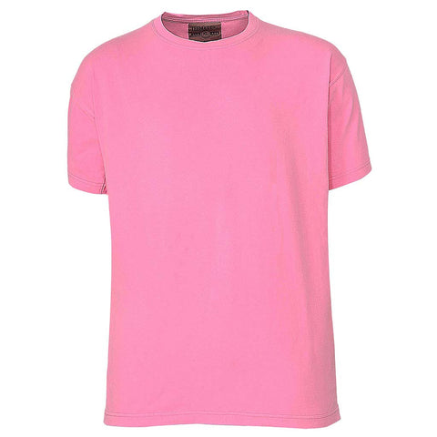 Mens Bright Neon Pink T-Shirt. Hot Pink