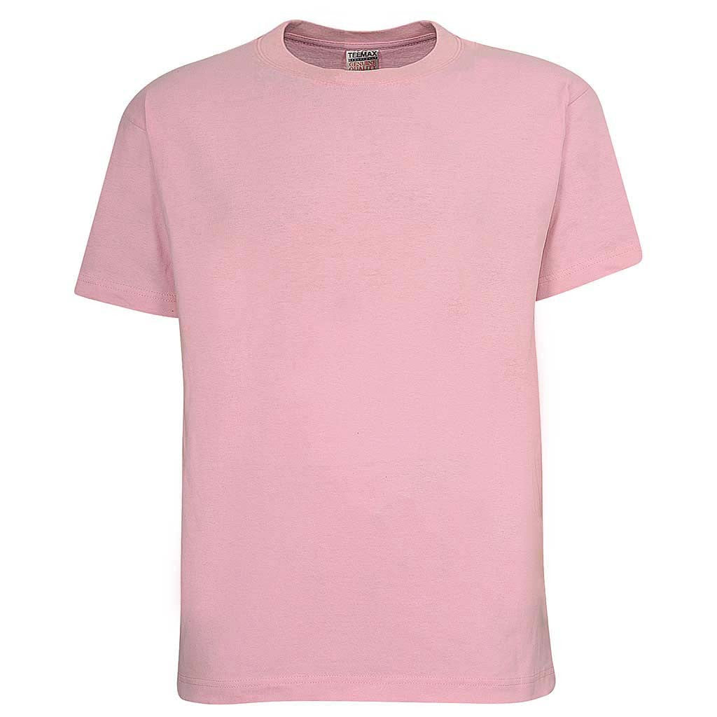 Mens Crew Neck T Shirt: Baby Pink