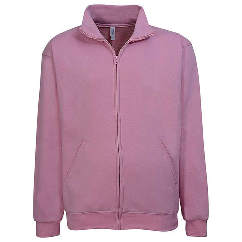 Men Zip Jacket: Baby Pink