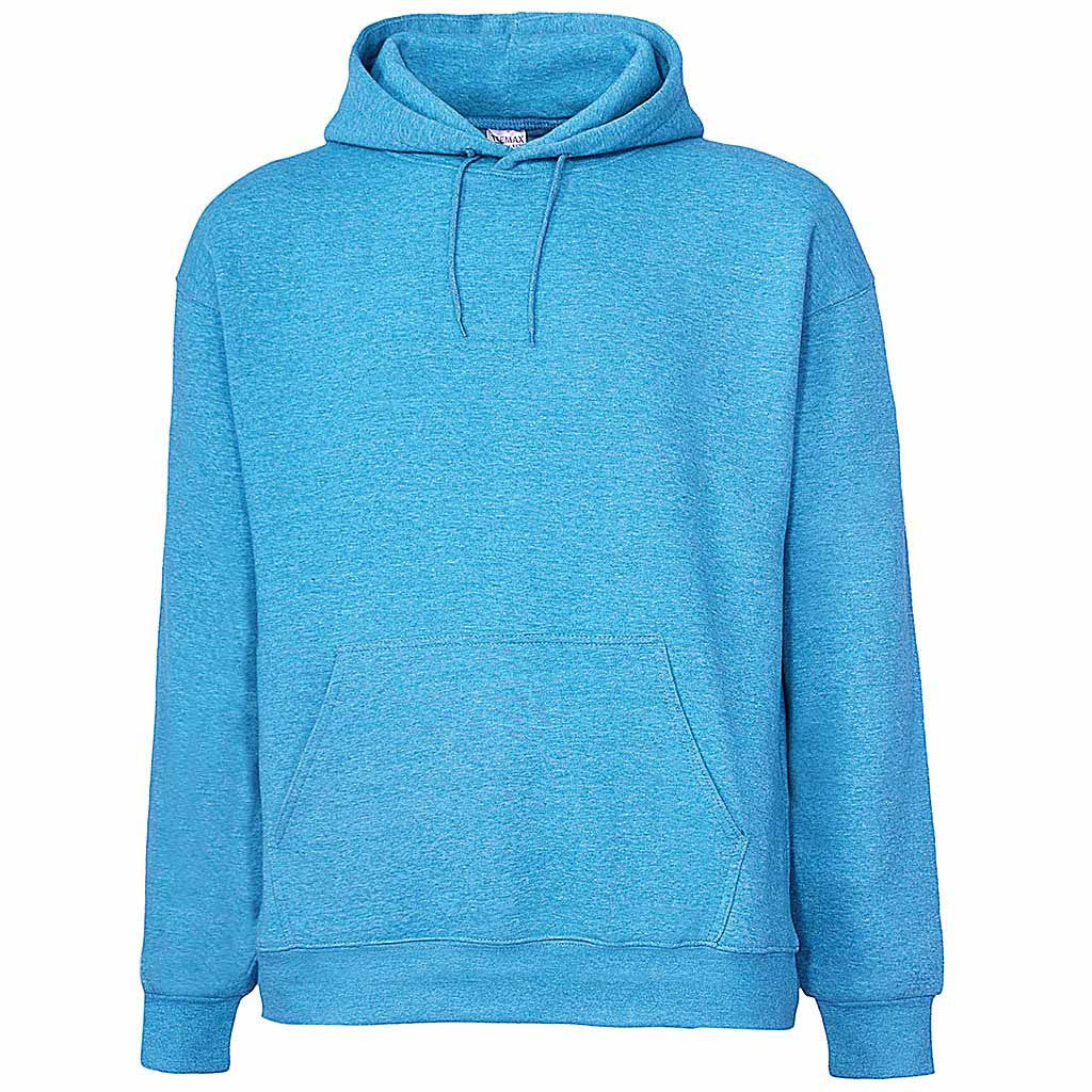 Mens Light Sky Blue Pullover Hoodie