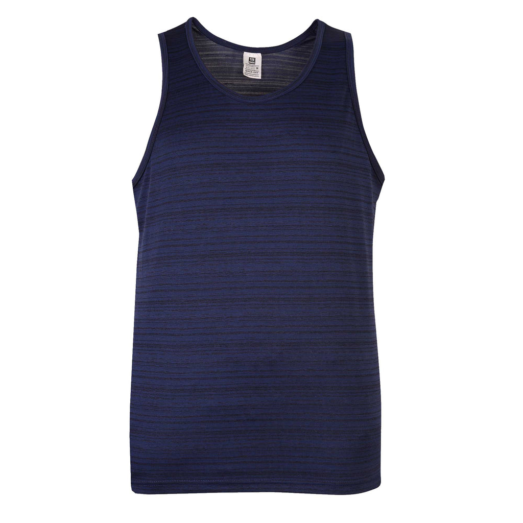 Mens Gym Tank: Navy Blue