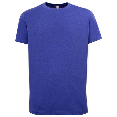 Mens Bright Royal Blue T Shirt: Teemax
