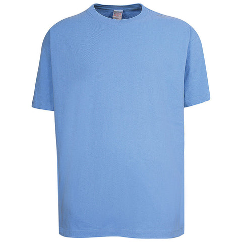 Mens Light Sky Blue T Shirt: Teemax