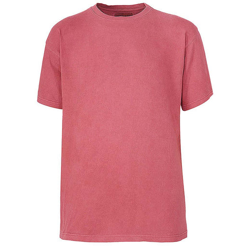 Mens Vintage Wash Watermelon T Shirt: Nantucket Red