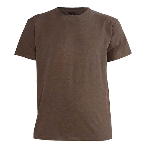 Mens Vintage T Shirts: Faded Brown