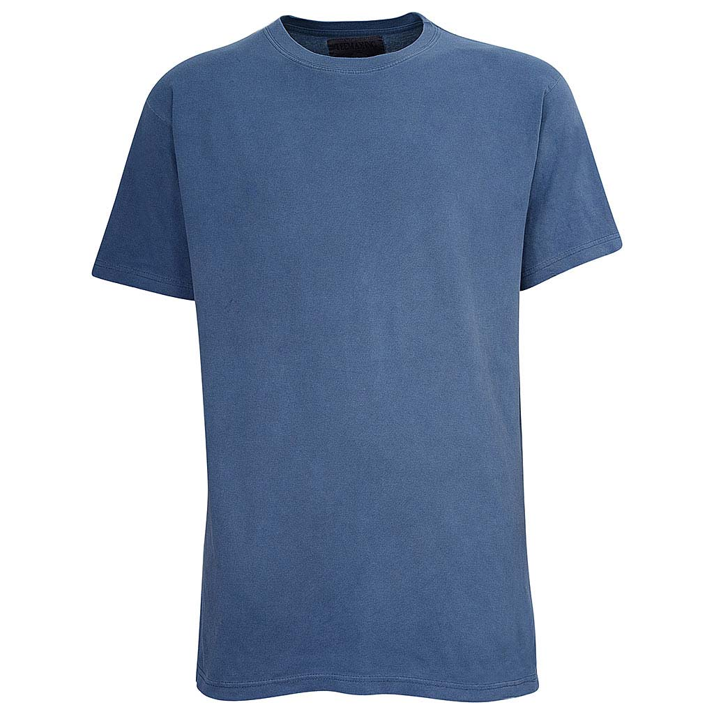 Mens Navy Blue Vintage T Shirt