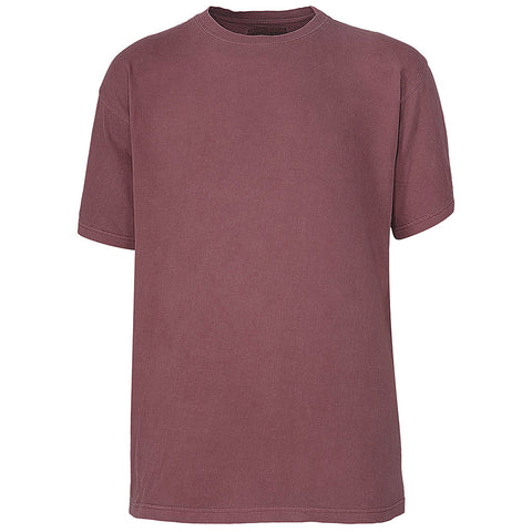 Mens Vintage T-Shirts: Burgundy Brick