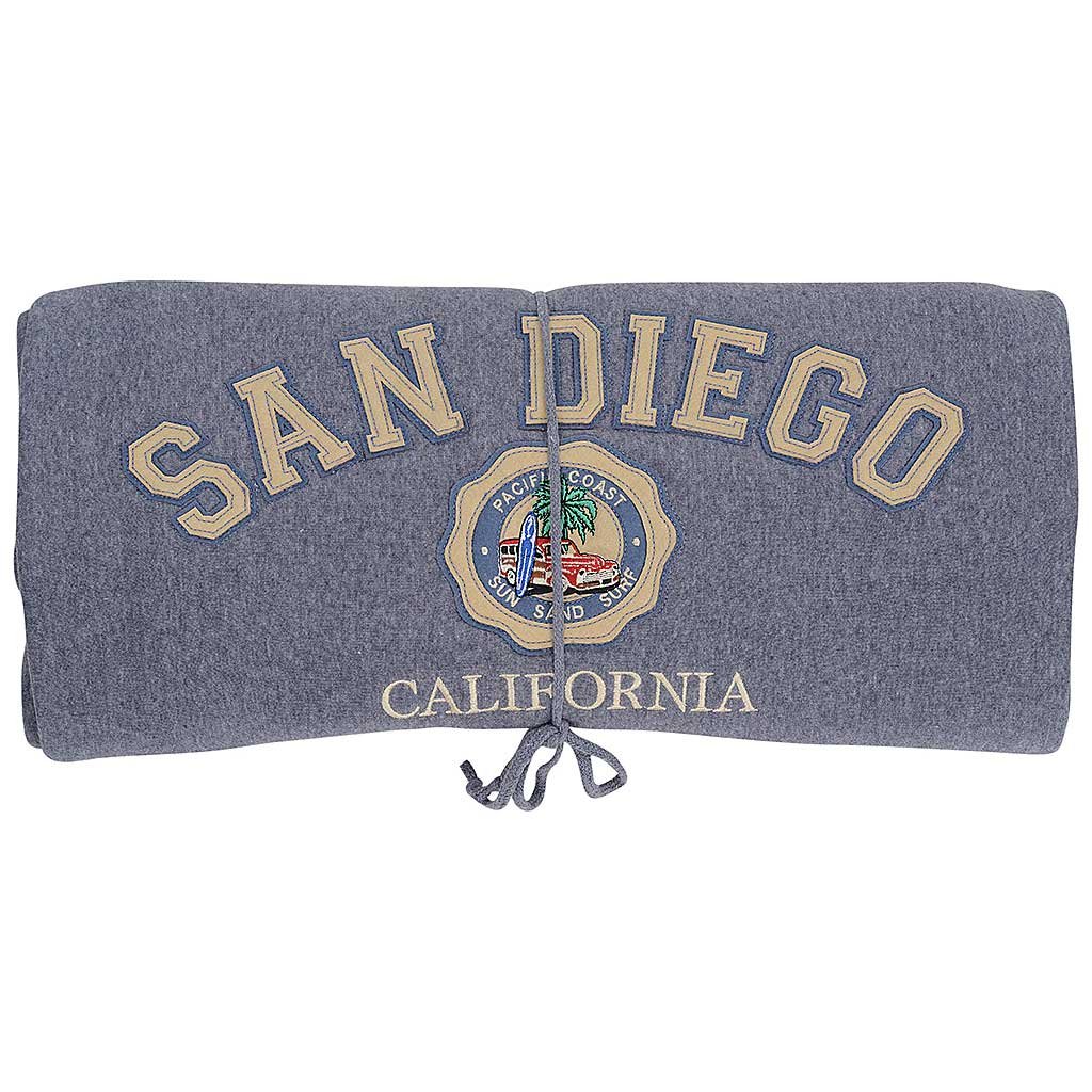 San Diego Blanket Woody Car Blue