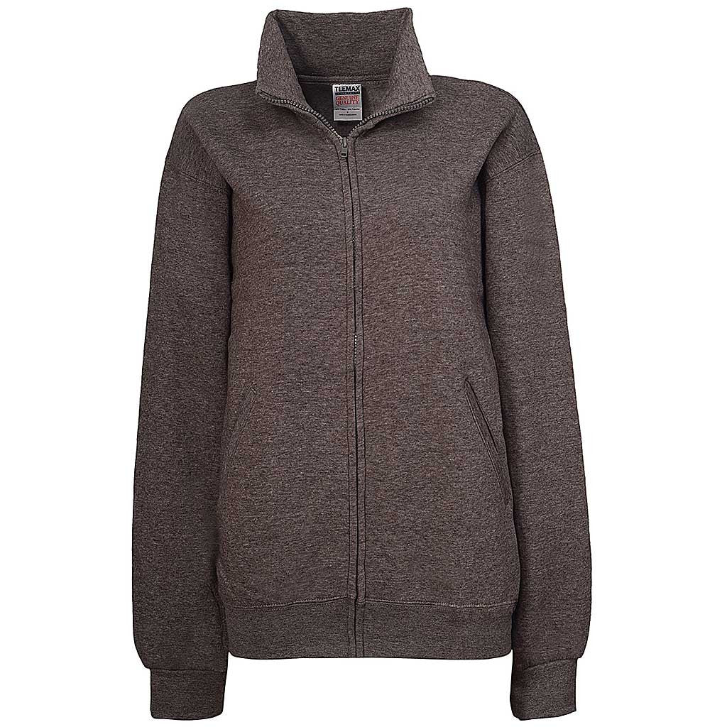 Womens Dark Charcoal Gray Jacket - Teemax